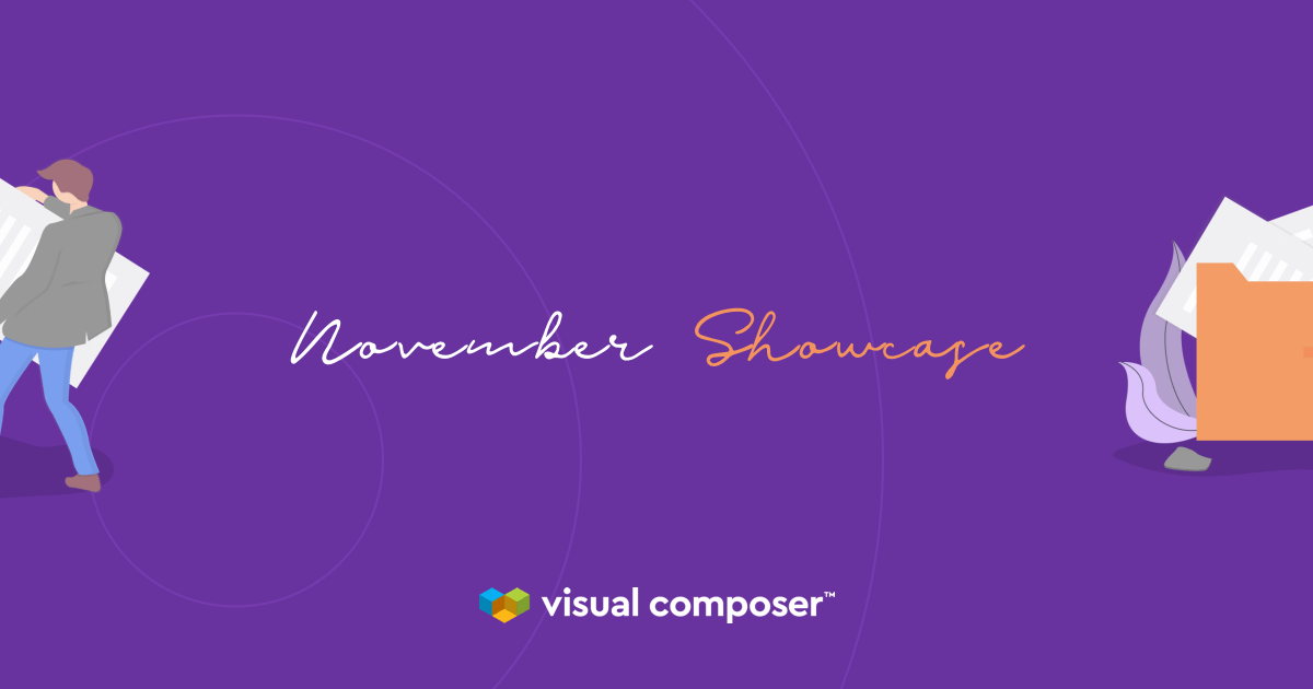 Visual Composer Showcase: November 2019