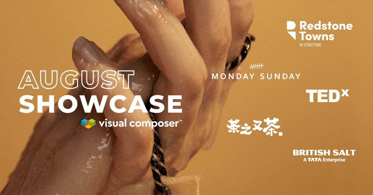Visual Composer August 2019 Showcase