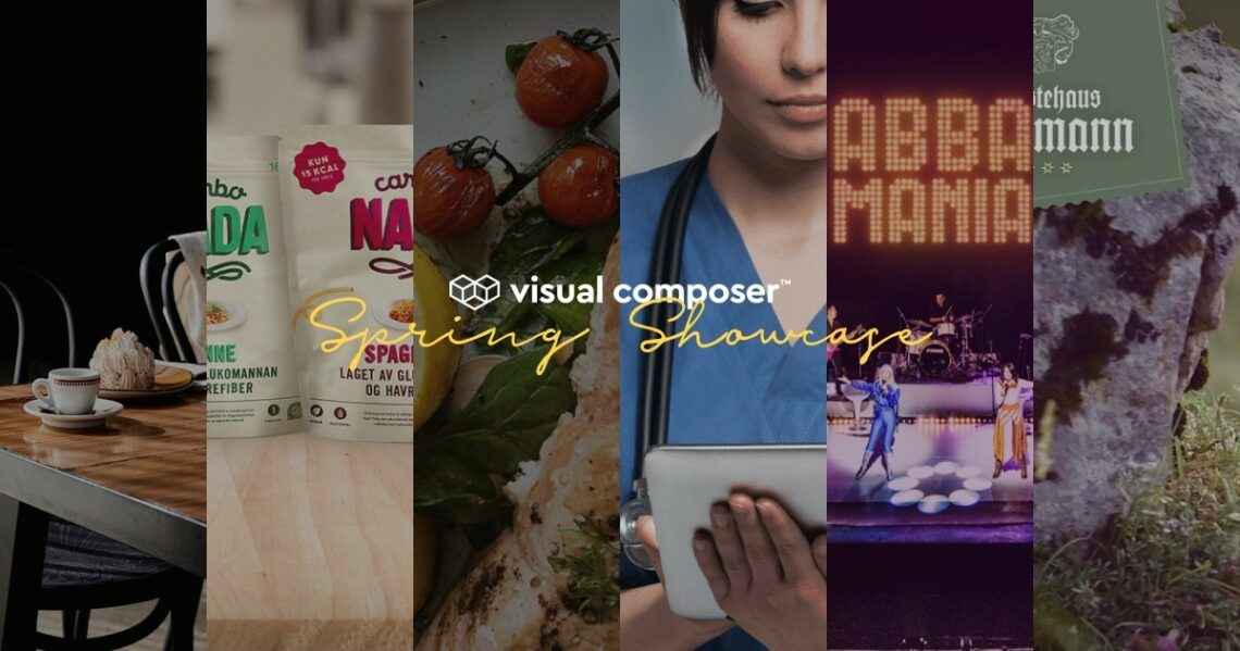 Visual Composer Spring Showcase 2019