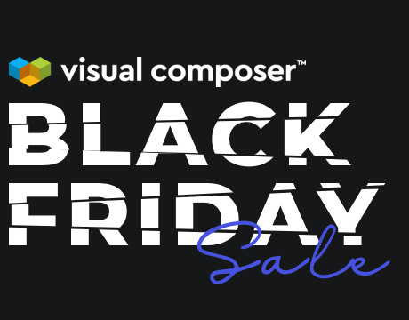 Visual Composer Black Friday - get up to 40% off
